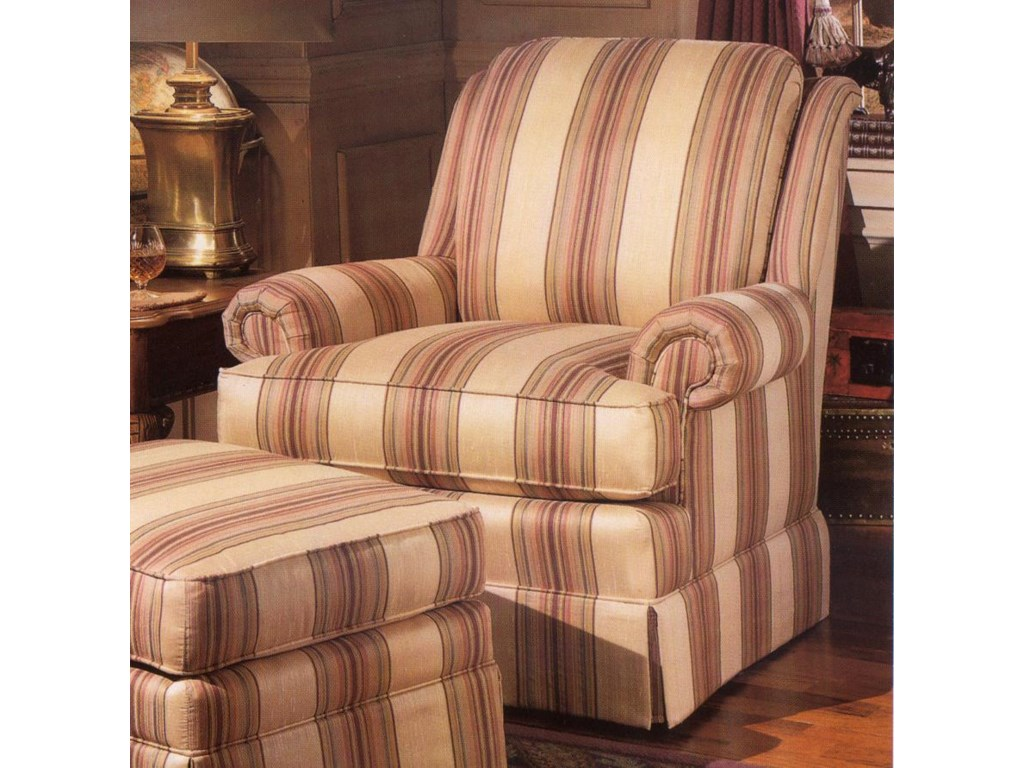 Smith Brothers 971Upholstered Swivel Chair