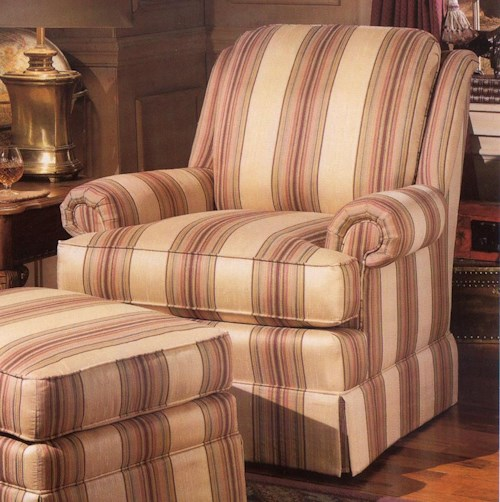 Smith Brothers 971 Upholstered Swivel Chair