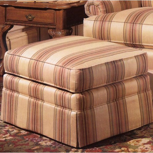 Smith Brothers 971 Upholstered Ottoman