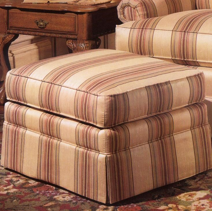 Smith Brothers 971Upholstered Ottoman