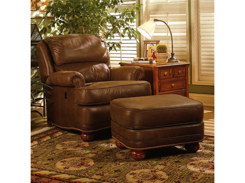 Smith Brothers 988Upholstered Ottoman