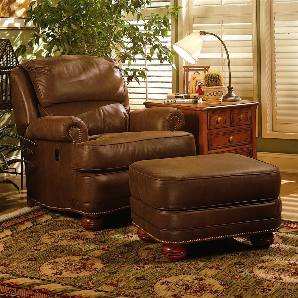 Smith Brothers 988 Upholstered Tilt Back Reclining Chair