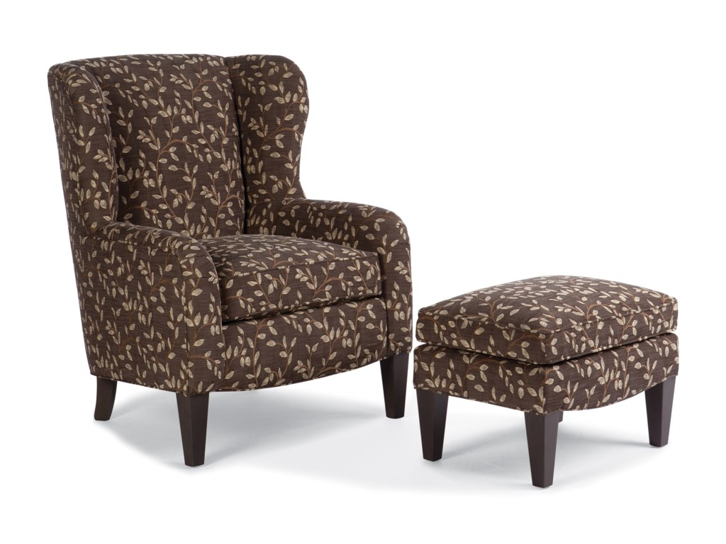 Smith Brothers 994Upholstered Ottoman
