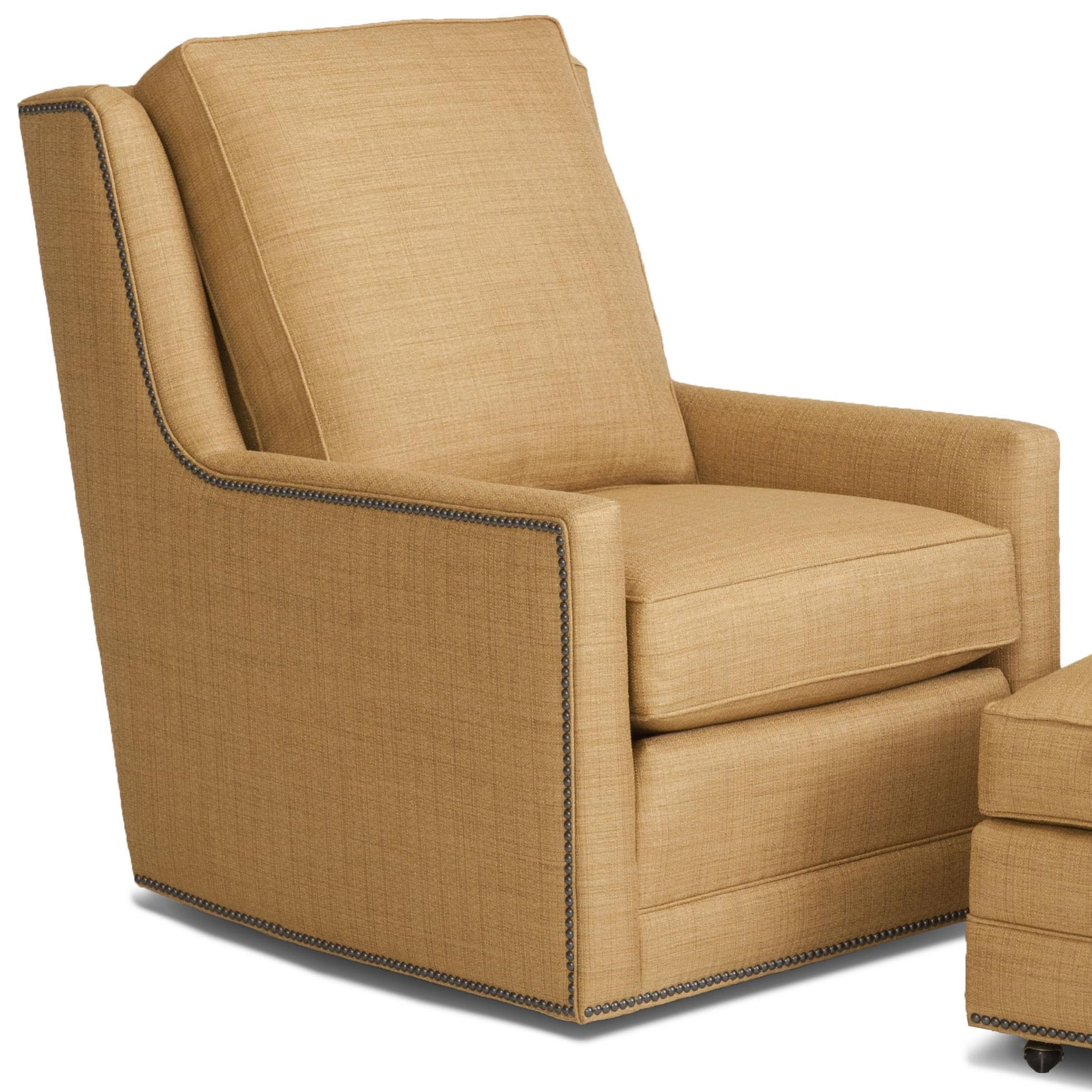 Smith Brothers Accent Chairs And Ottomans SBSwivel Chair ...