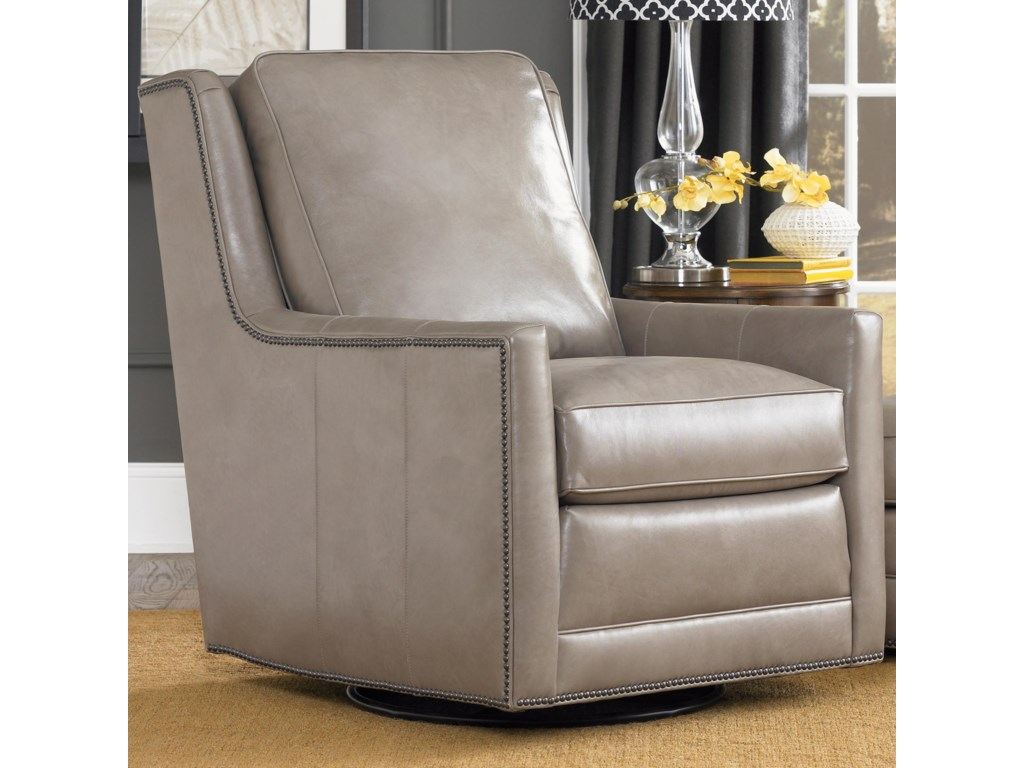 Smith Brothers Accent Chairs and Ottomans SBSwivel Chair