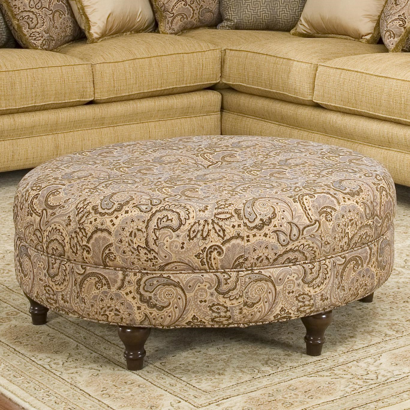 Smith Brothers Accent Chairs and Ottomans SB Round ...