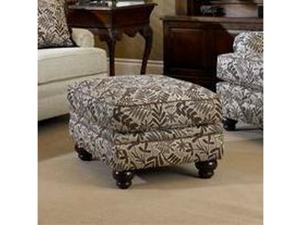 Smith Brothers Build Your Own 5000 Series Upholstered Ottoman With