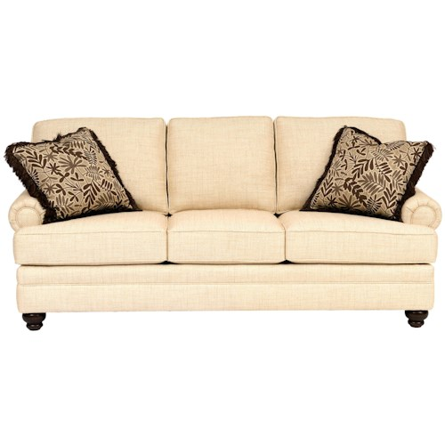 Smith Brothers Build Your Own (5000 Series) Sofa with Turned Legs