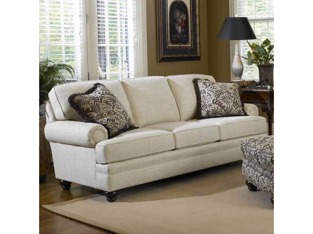 Smith Brothers Build Your Own (5000 Series)Sofa with Turned Legs