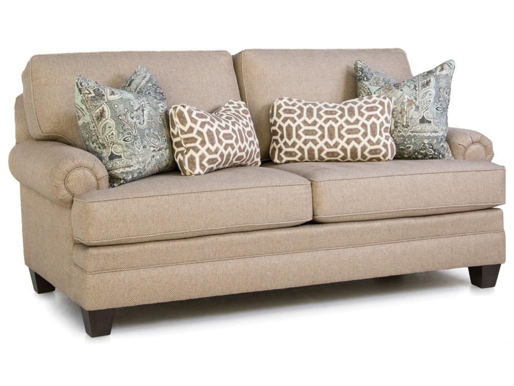 Smith Brothers Build Your Own 5000 SeriesCustomizable Mid-Size Sofa