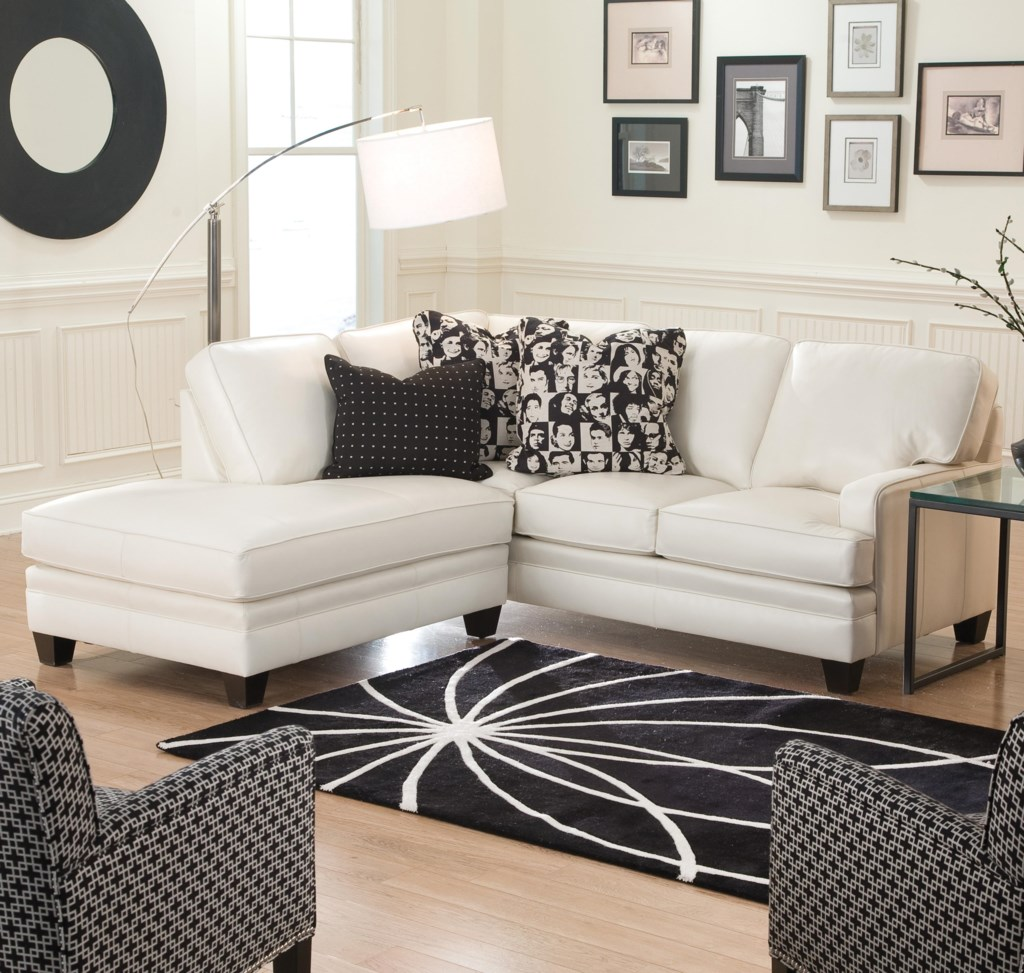Smith brothers build your own 5000 series small sectional sofa with contemporary look dunk bright furniture sectional sofas