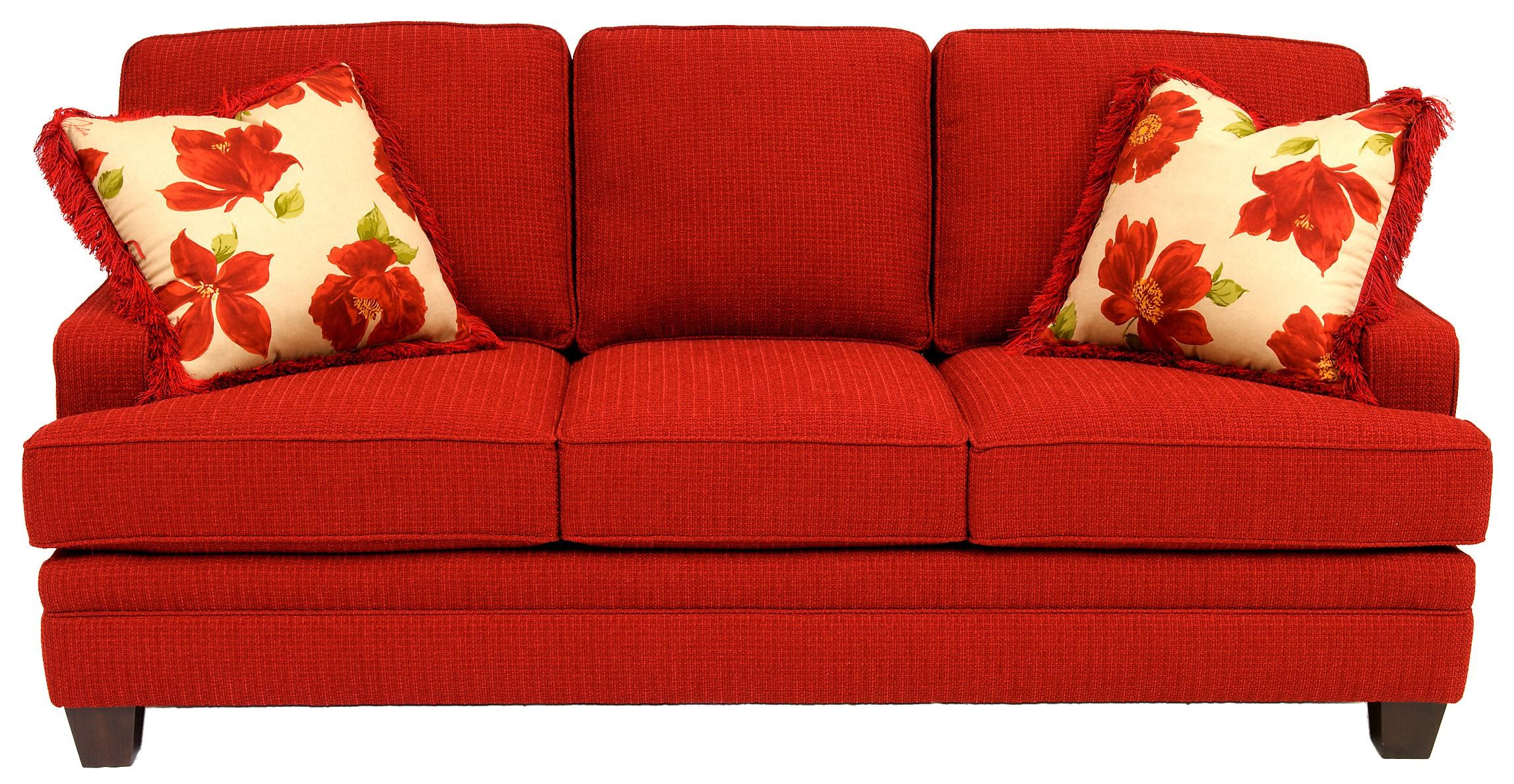 Smith Brothers Build Your Own (5000 Series)Accent Sofa With Tapered Leg ...