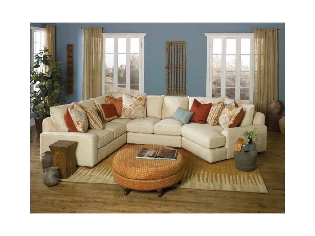 Smith Brothers Build Your Own (8000 Series) Casual Sectional Sofa ...