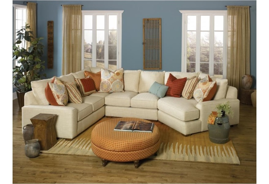 8000 Series Casual Sectional Sofa