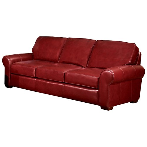 Smith Brothers Build Your Own (8000 Series) Classic Casual Sofa with Sock Arms