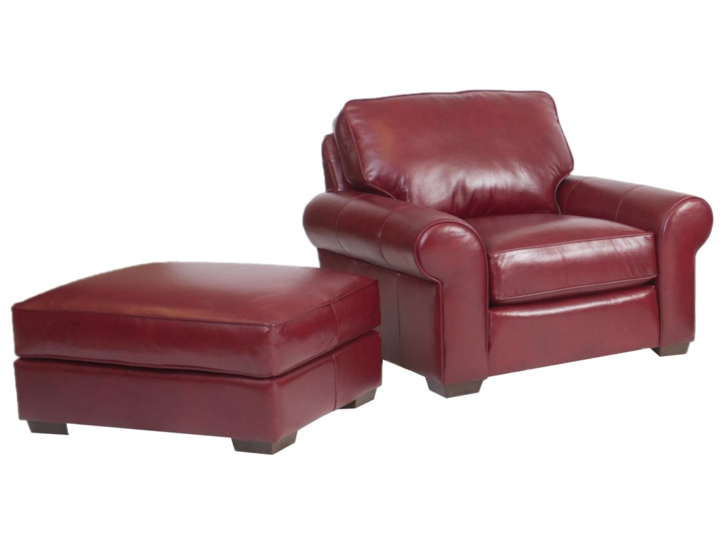 Smith Brothers Build Your Own (8000 Series)Chair and Ottoman