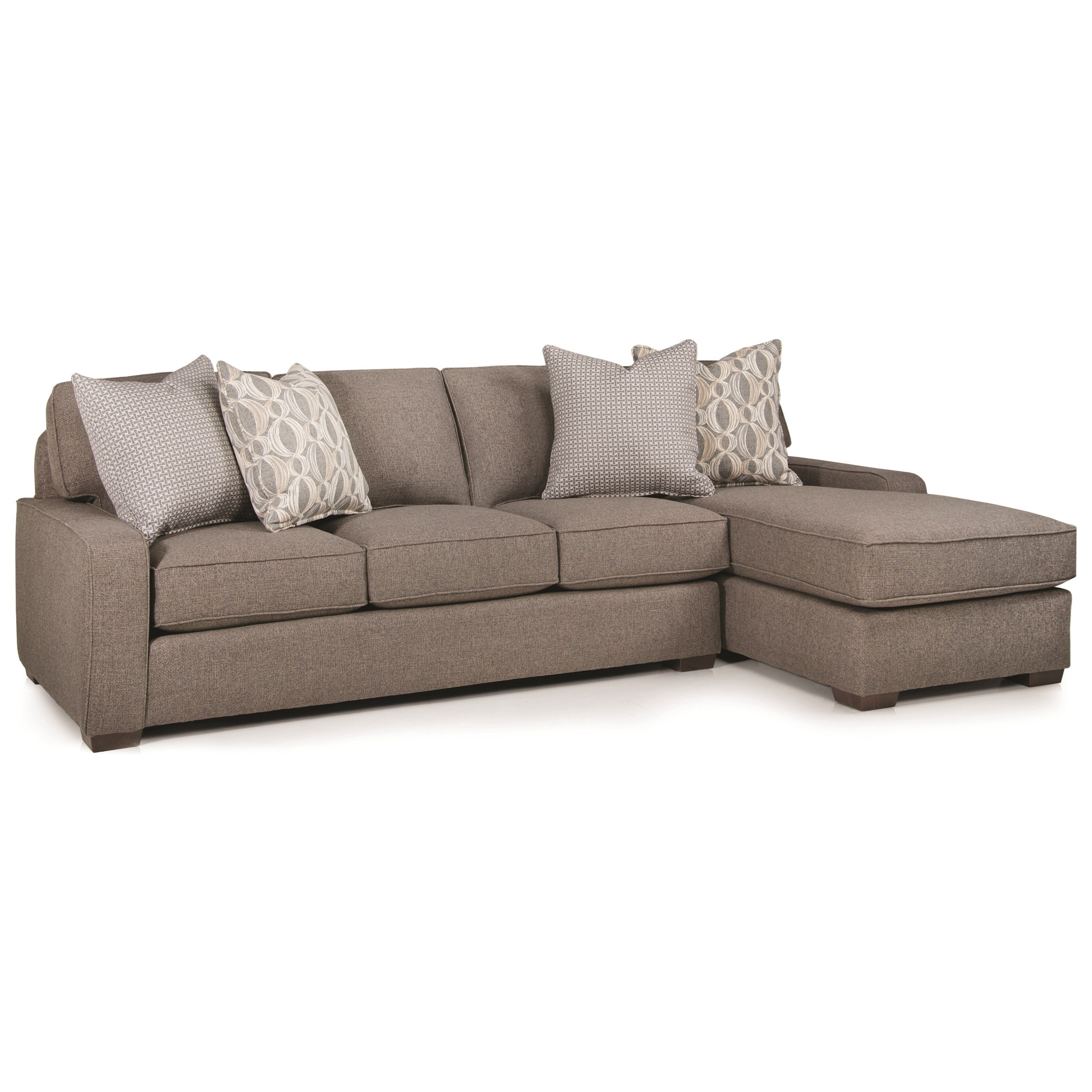 Smith Brothers Build Your Own (8000 Series) Casual 4 Seat Sectional With  Right Chaise