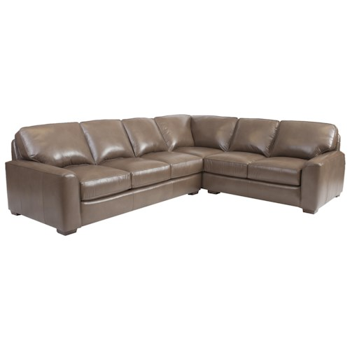 Smith Brothers Build Your Own (8000 Series) Large Corner Sectional Sofa