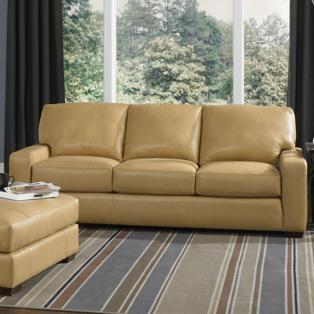 Smith Brothers Build Your Own (8000 Series) Contemporary Sofa With Track  Arms - Dunk & Bright Furniture - Sofas