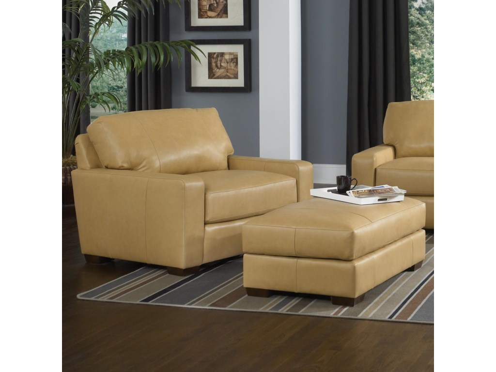 Smith Brothers Build Your Own (8000 Series)Chair and a Half and Ottoman