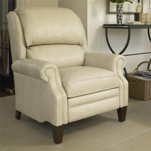 Smith Brothers Recliners Pressback Reclining Chair With