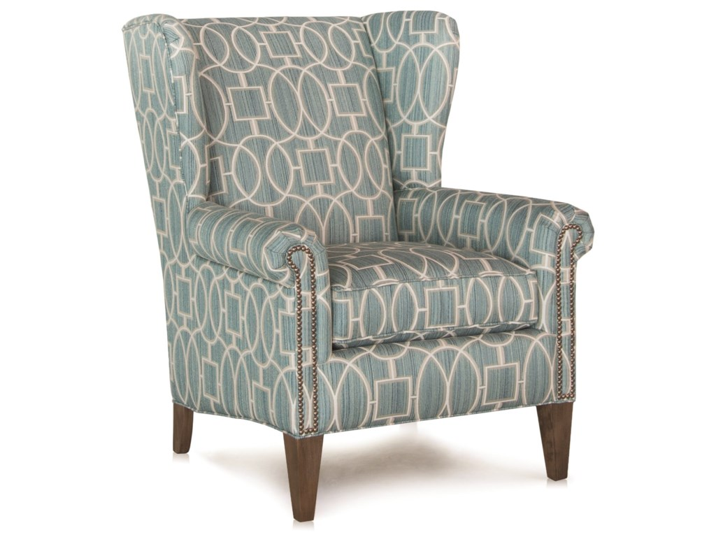 Patterned Wingback Chair Cool Design Ideas
