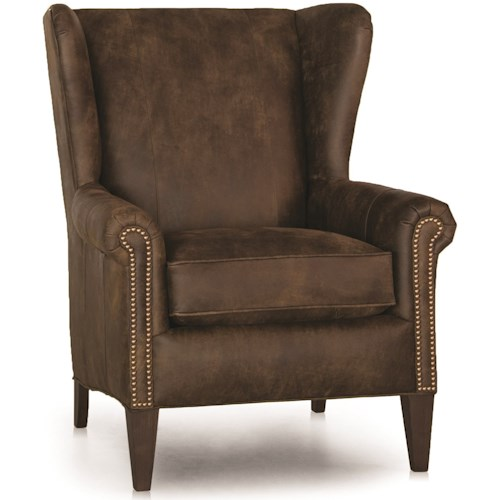 Wingback Chair With Nailhead Trim Home Ideas