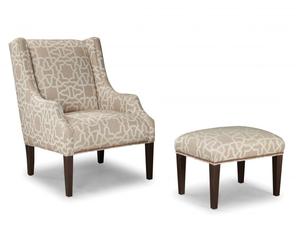 Upholstered Chair And Ottoman smith brothers smith brothers 513 upholstered chair and ottoman