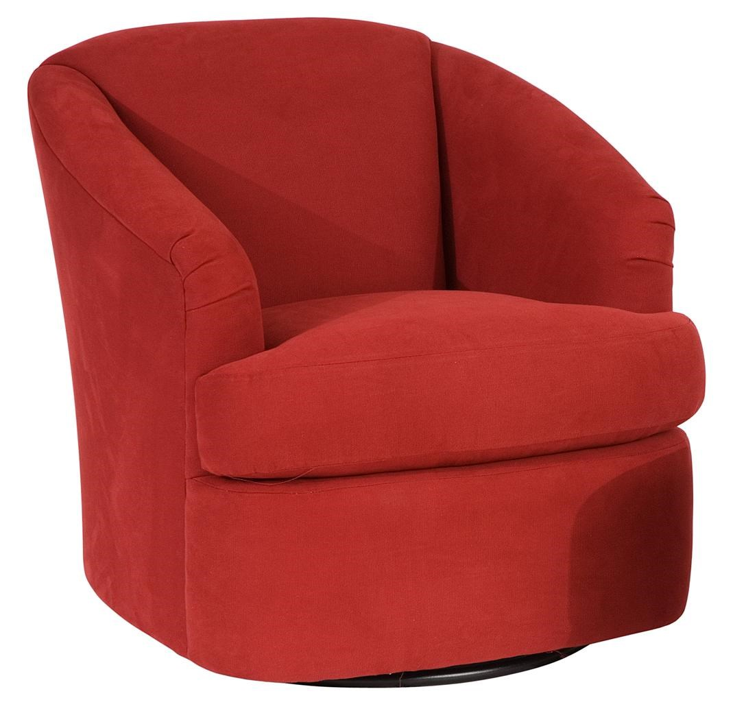 Smith Brothers Smith BrothersContemporary Swivel Chair ...