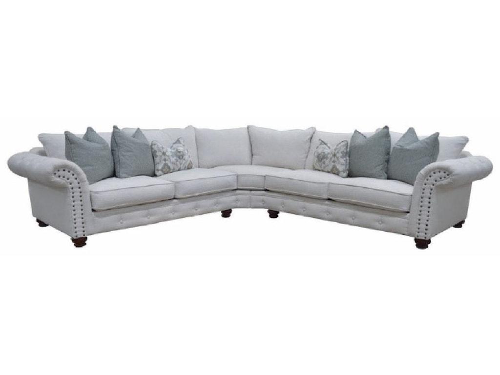 Sofamaster AberdeenDown Sectional