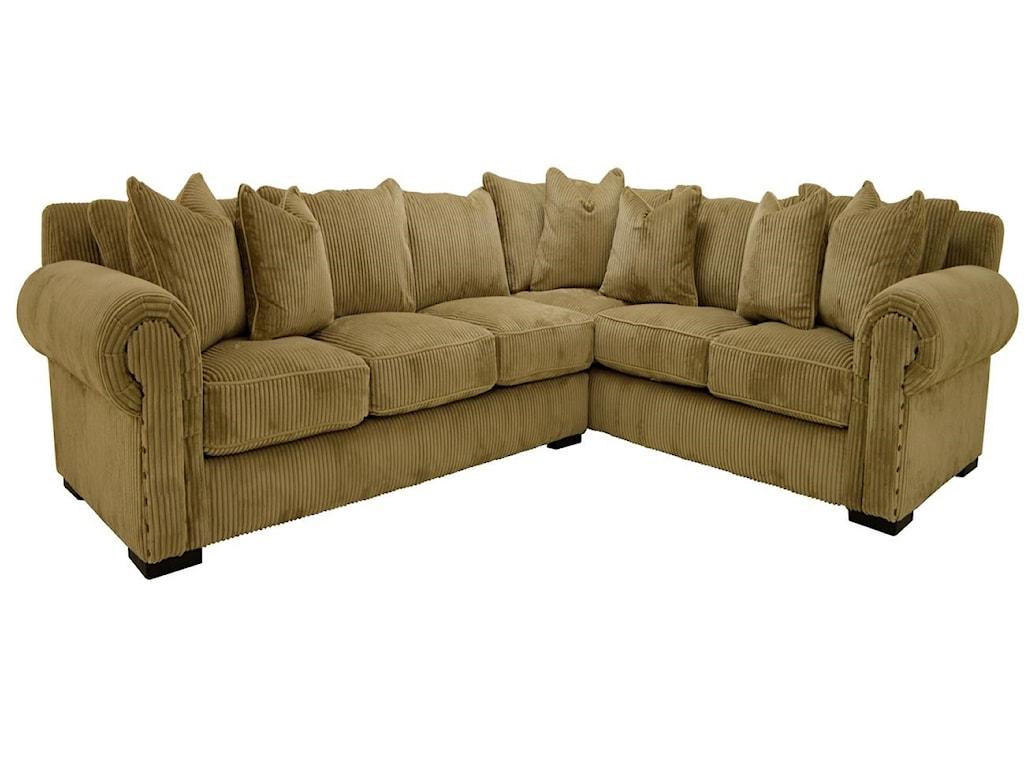 Sofamaster BuenavistaDown Sectional
