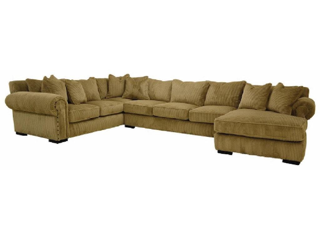 Sofamaster BuenavistaDown Sectional Sofa
