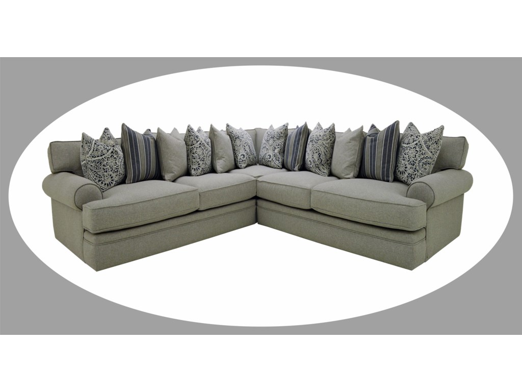 Sofamaster LevitateDown Sectional