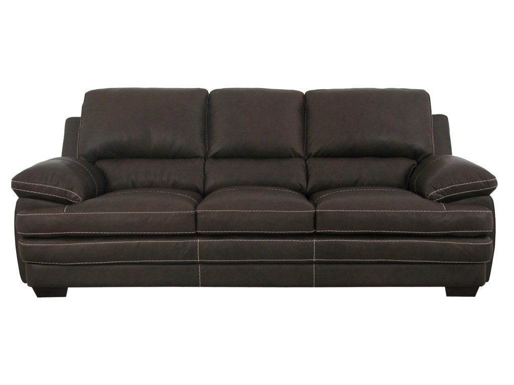 Soft Line 4806leather Sofa