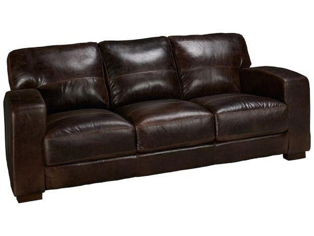 Soft Line 4864 Leather Sofa | Hudson\'s Furniture | Sofas