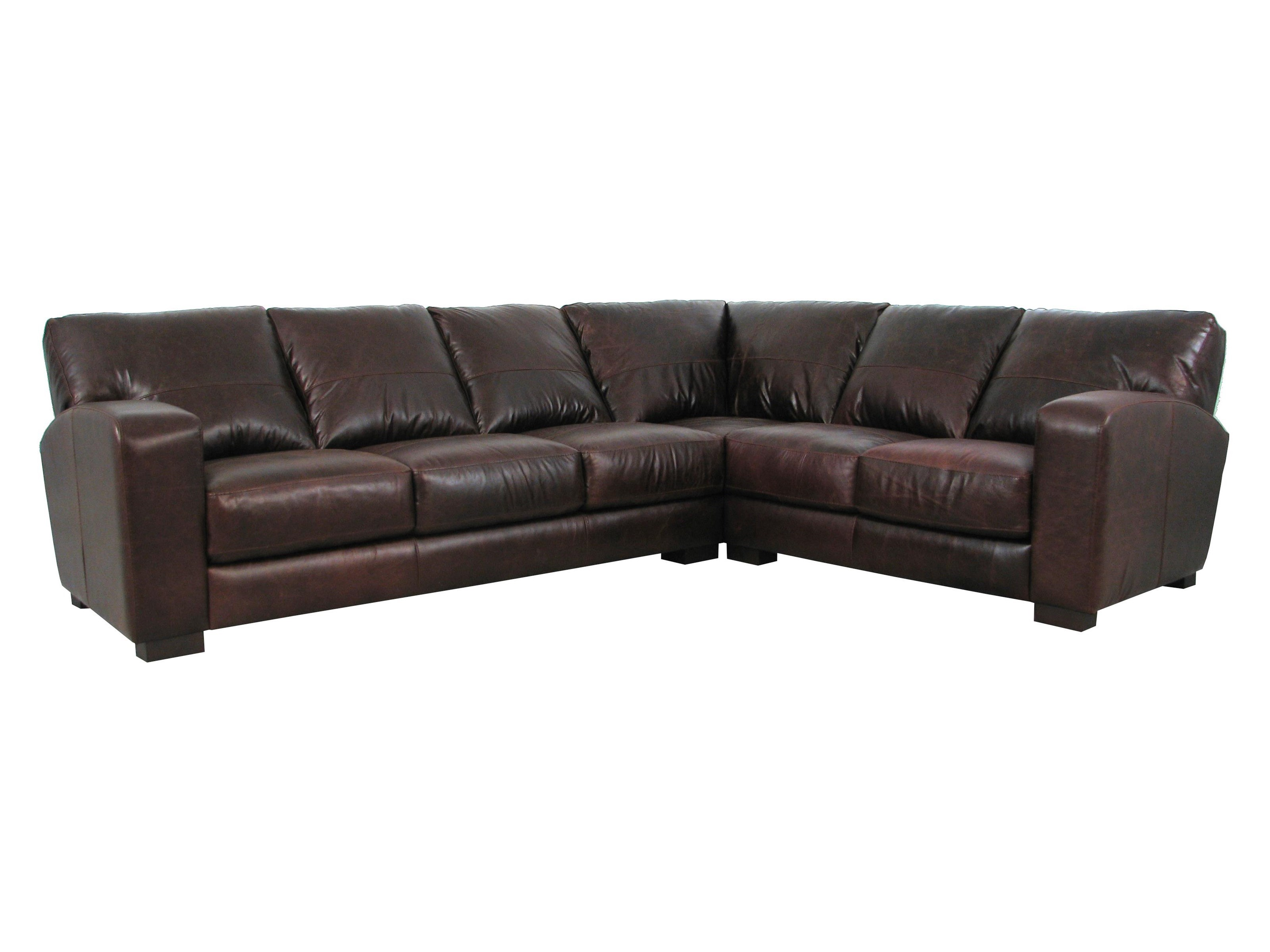 Soft Line 4864Leather Sectional