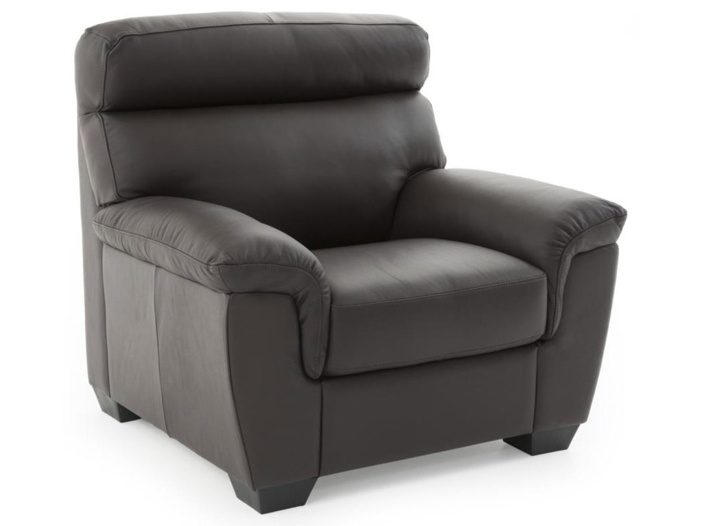 Softaly U222Casual Leather Chair