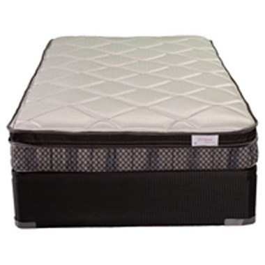 """Twin Extra Long Euro Top Mattress and 9"""" Foundation"""