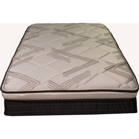 "Twin 9 1/2"" Euro Top Mattress"