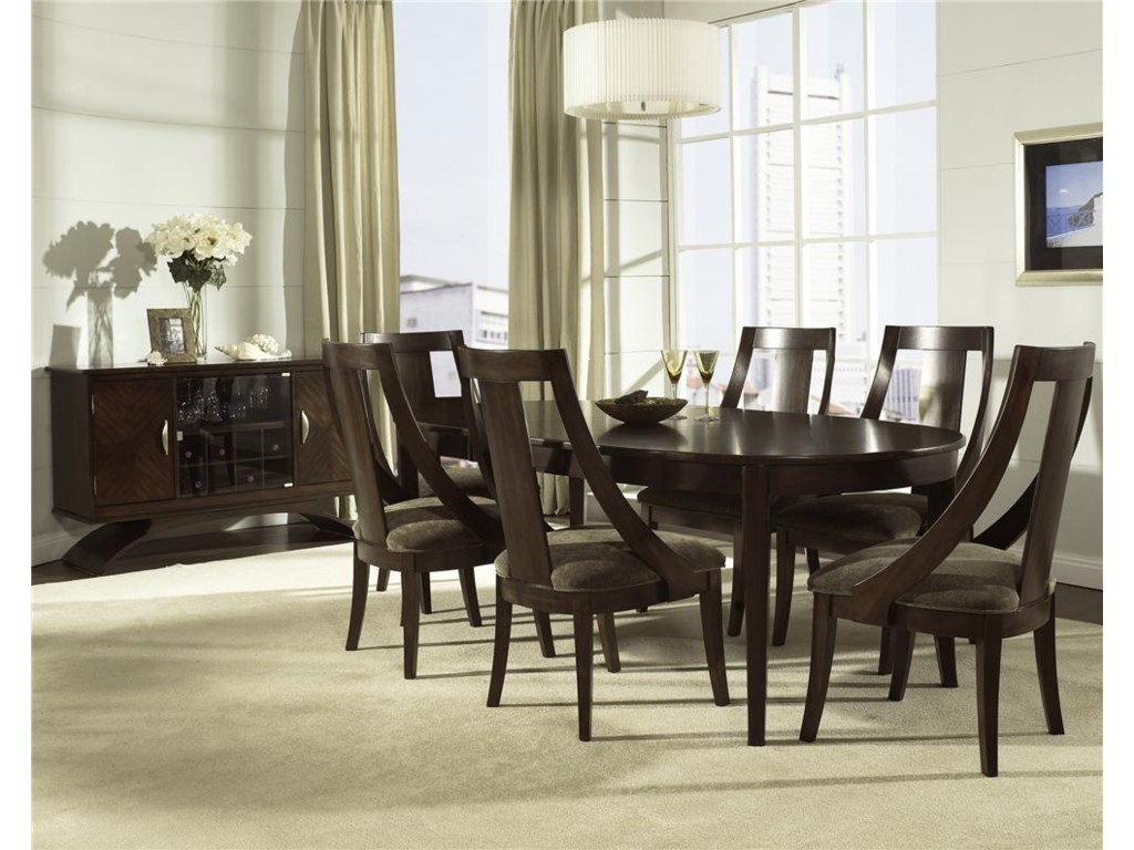 Shown with Dining Chairs & Server