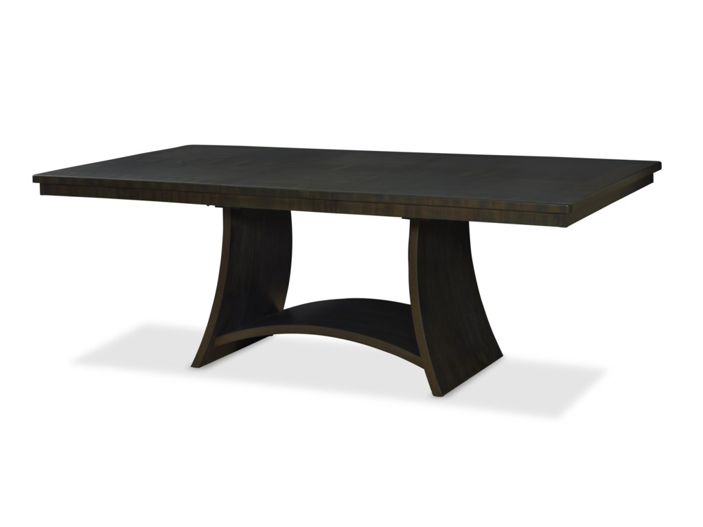 Novara Dining Table By Somerton At Homeworld Furniture