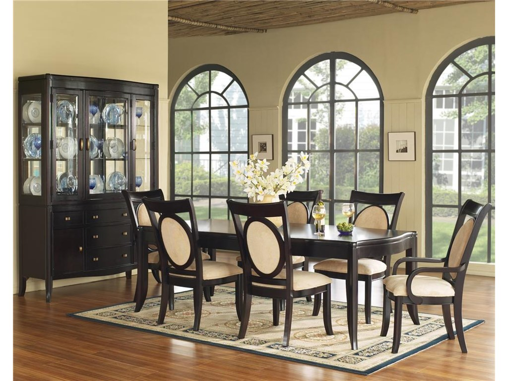 Shown with Dining Table & China Cabinet