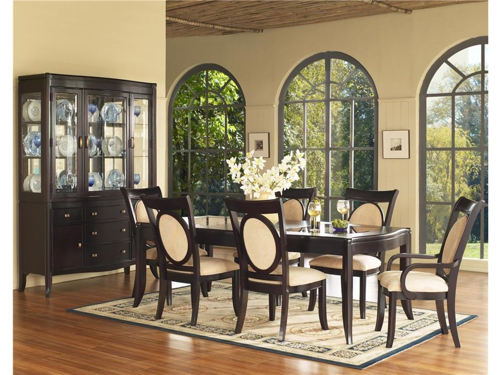 Shown with Upholstered Chairs & China