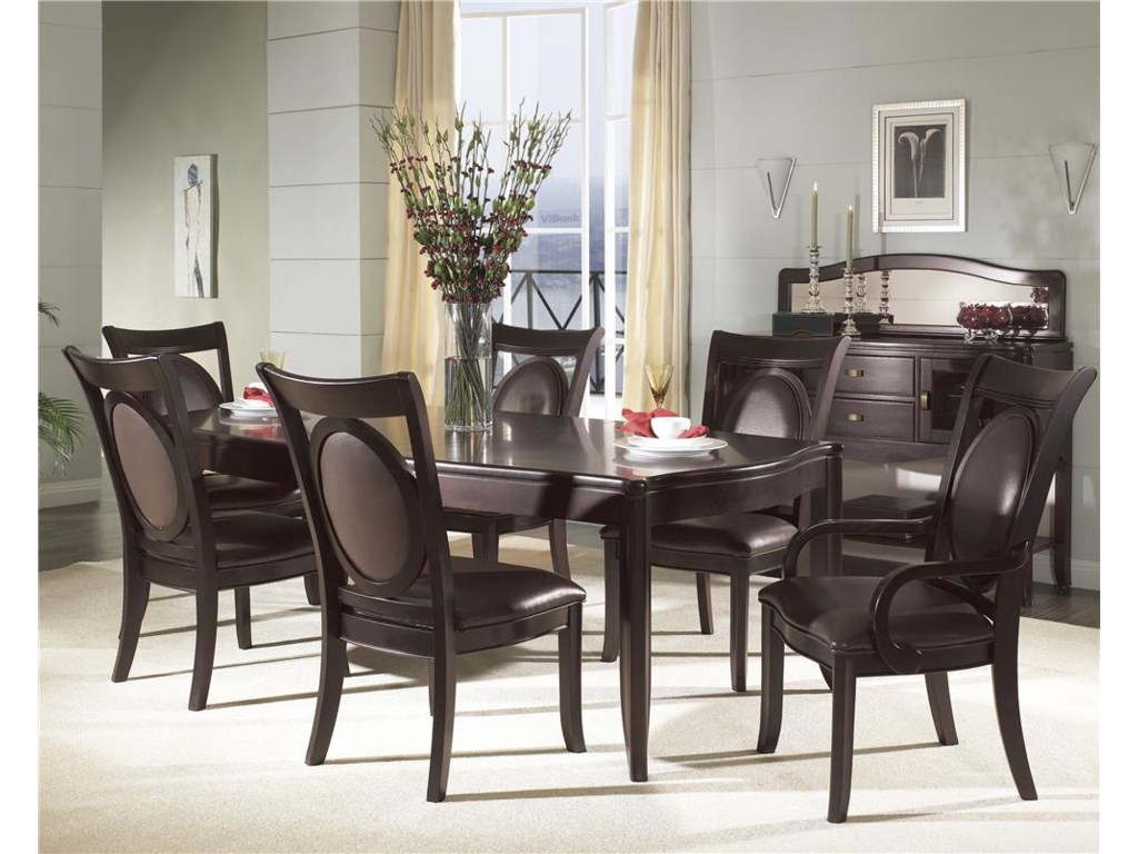 Shown with Table, Server & Side Chairs