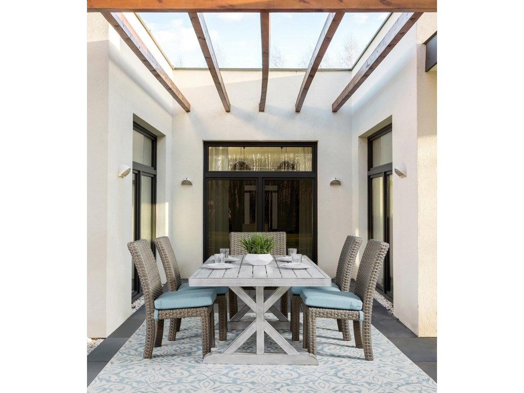 South Sea Rattan & Wicker Dover Dining 2019Rectagular Dining Table