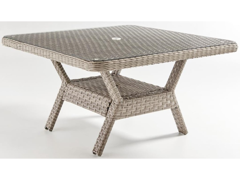 South Sea Rattan & Wicker MayfairDining Chat Table