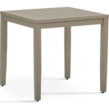 End Table w/Glass