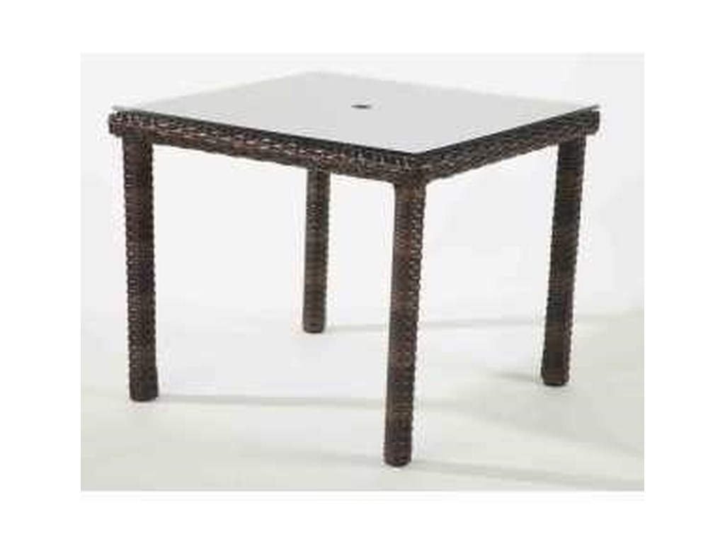 South Sea Rattan & Wicker Saint TropezDining Table