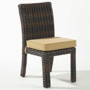 Elegant South Sea Rattan U0026 Wicker Saint Tropez Dining Side Chair