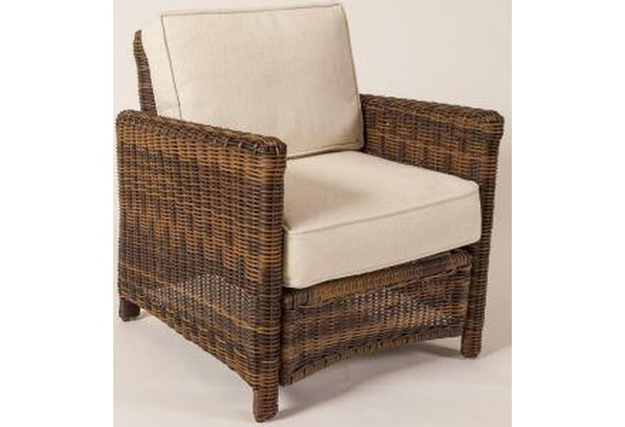 South Sea Rattan Wicker Del Ray Chair